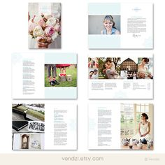 Photography Price List  Photography Brochure  by vendzi on Etsy, $1600.00