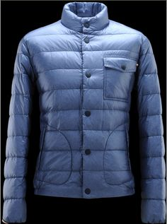 Buy Blue Moncler Paimpol Down Jacket for Men $249.99