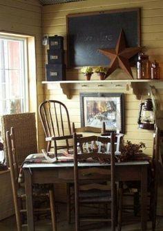Primitive Decor - Amish Decor - Christian Decor