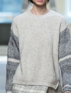 sleev, slouchi sweater