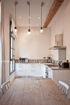 Cuisine on pinterest black kitchens plan de travail and - Decoration eclectique appartement centre ville floride ...