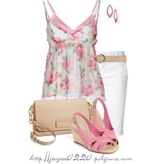 """Pink Floral Top"