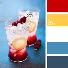 color palettes, color pallets, color balanc, summer colors, color inspir