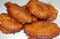 Akara... These fritters are made of black-eyed peas or you can use ...