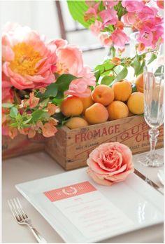 interior design blogs, summer table settings