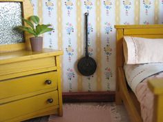 Vintage Doll House BED WARMER in One Inch Scale by TheToyBox, $15.00