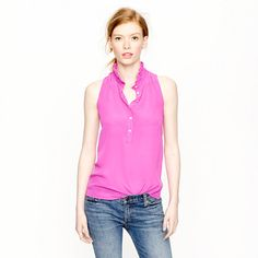 LOVE this new top! Super comfy and can be dressed down! J Crew Nicky top
