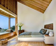 Sat 28 Jul 2012. Sun, windows, sky, space, enclosed, sparse, wood, simple, uncluttered, neat, new, dry, warm, shade, view.