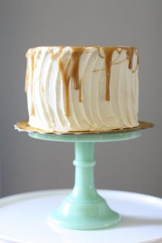 The Scootabaker's Salted Caramel Cake