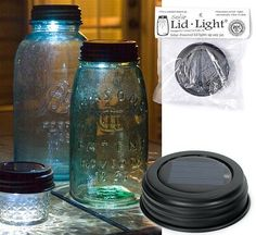 Solar Lid Lights