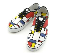 love these mondrian vans
