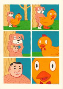 Joan Cornella's art takes your mind on a little trip.