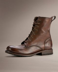 Rogan Tall Lace Up - View All Men's Boots - Western Boots, Harness Boots, & More - The Frye Company  I MUST HAVE THESE NOW.