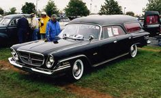 1962 Chrysler hearse