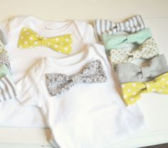 How To Make Your Own Bow Tie For Baby ~ 5 DIY Tutorials   Disney Baby