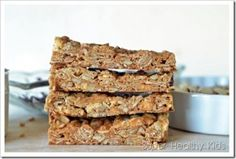 Grab and Go Granola Bars | Healthy Ideas for Kids