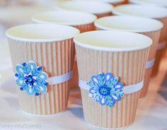 Winter Wonderland hot cocoa bar cups