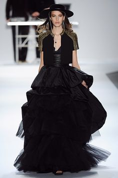 Carlos Miele F/W 2012 Fashion Show Review
