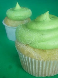 Margarita Cupcakes with Tequila Lime Buttercream