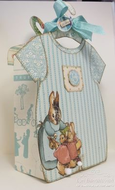 Sweet Sentiments Dress Up Baby Bag - Boy by Lyn Bernatovich #graphic45