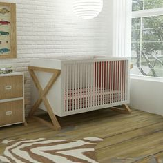 Campaign Crib in Choice of Finish from PoshTots