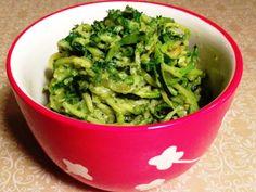 zucchini noodl, sauces, noodles, clean eat, healthi, noodle recipes, paleo zucchini, avocado cream, cream sauc
