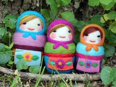 needle-felted_russian_dolls