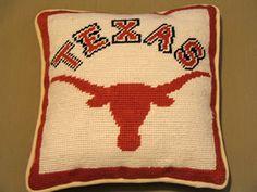 Longhorn Pillow