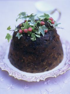 Traditional Christmas Pudding... Would love to try this!