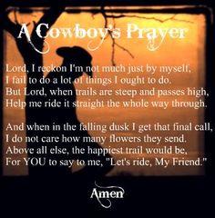 A Cowboy's Prayer
