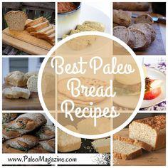 Best Paleo Bread Recipe Round Up
