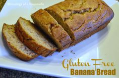 Best EVER {Gluten Free} Banana Bread