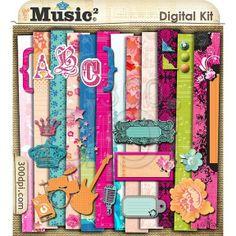 Free Digital Scrapbooking Kits