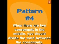 ▶ Syllable Pattern Help - YouTube
