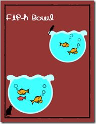 Fish Bowl Clipart - free goldfish graphics