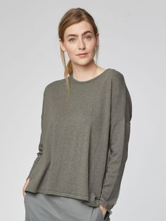 Isobel Organic Cotton Jumper Top