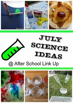 Planet Smarty Pants: July Science Ideas #stemactivities