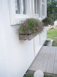 Idé: Blomsterkasse