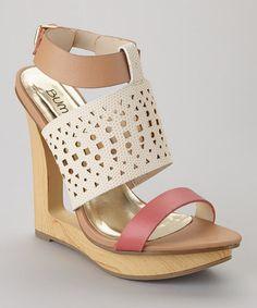 Beige Debbie-01 Sandal by Bumper on #zulily