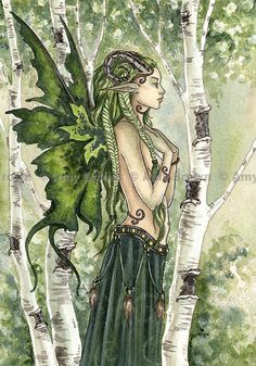 Forest Spirit Fairy by Amy Brown