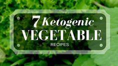 keto vegetables reci