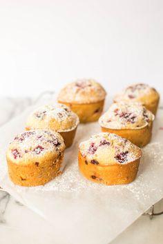 Raspberry and Vanilla Bean Friands
