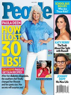 If she can do it so can I!!!!! People Magazine Cover