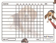 Hundreds of behavior contracts, behavior charts, and reward systems for kids.