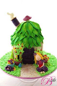 Fairy House Cake ©Bella Cupcakes (Vanessa Iti)