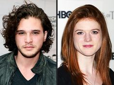 Kit Harington  Rose Leslie: More Than Just Game of Thrones Costars? -    TV Watch   By Tim Nudd 08/27/2012 at 10:15 AM EDT   Kit Harington and Rose Leslie Kevin Winter/Getty; Jonathan Short/AP Have Game of Thrones costars Kit Harington and Rose