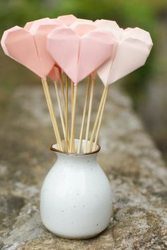 ♥ the concept of an origami ♥ bouquet ~