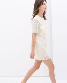 DRESS WITH POCKETS from Zara