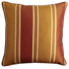 Bellingham Stripe Copper Pillow