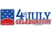 Fourth of July Events in St George Utah.  7/4/2014 in Vernon Worthen Park 300 S 400 E St George Utah. Fourth of July at Vernon Worthen Park in St George Utah is an annual event and tradition for many residents! The park is located at 300 S 400 E St George Utah.  Festivities are being held this year on Friday, July 4th, 2014.  Admission is FREE There's a home cooked breakfast provided by Staheli's Catering (7:30am-10:00am) in the park –  The menu includes pancakes, eggs  hashbrowns.